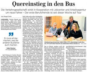 Märkische Allgemeine vom 14. November 2017