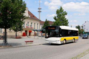 Moderne Busflotte: VTF Stadtverkehr