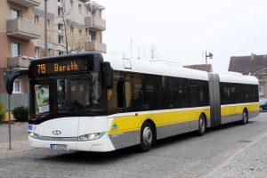 Moderne Busflotte: VTF Gelenkbus