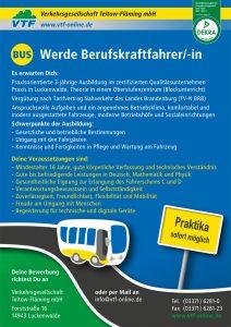 Plakat Ausbildung