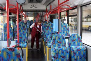 Sauberkeit im Bus
