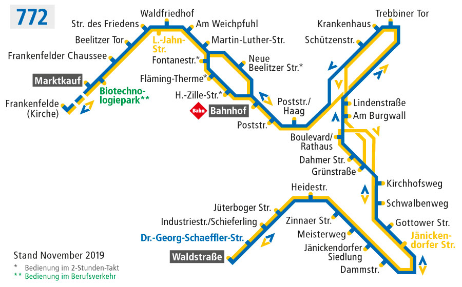 Stadtverkehr Luckenwalde