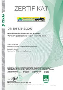 Zertifikat 13816