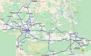 Karte Rufbus R755